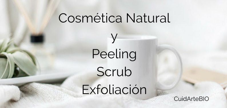 ¿Peeling, Scrub o Exfoliación?