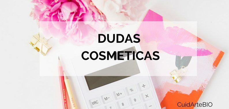 Dudas cosmeticas
