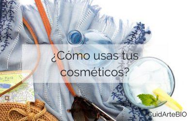 ¿Como usas tus cosméticos?
