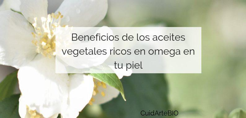 Propiedades de los Aceites Vegetales ricos en Omegas