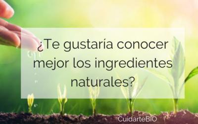 El mundo de los ingredientes naturales